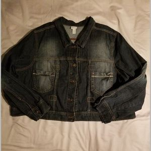 Venezia Plus Size Jean Jacket